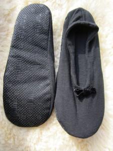 Ballerina Haussocke von nur die in schwarz