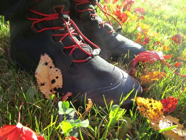 Mit dem Vivobarefoot Hiker durch den Herbst