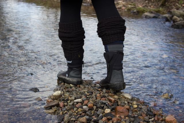 Neoprenschuhe wasserdicht machen mit Sealskinz