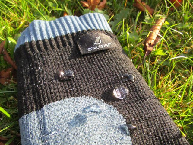 Wasserdichte Socken von Sealskinz
