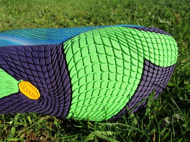 Die griffige und zugleich flexible Sohle des Vapor Glove