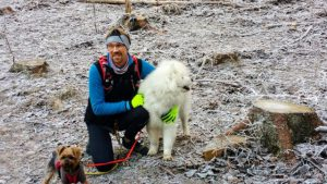 Laufen als Therapie - Jörg Schimitzek mit seinen Hunden