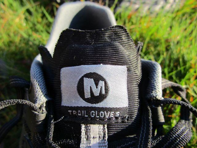 Die Zunge des Merrell Trail Glove 5