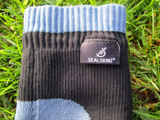 Sealskinz wasserdichte Socken Außenmaterial