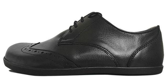 Business-Schnürschuh für Herren aus schwarzem Leder: Senmotic Empire