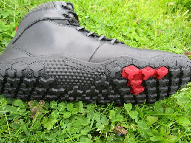 Laufsohle mit ausgeprägten Profilnoppen