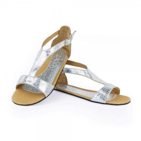 Damen-Sandale aus Leder