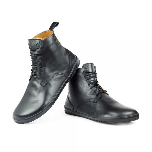 Barfuß-Stiefel aus Leder von ZAQQ: Quintic Winter