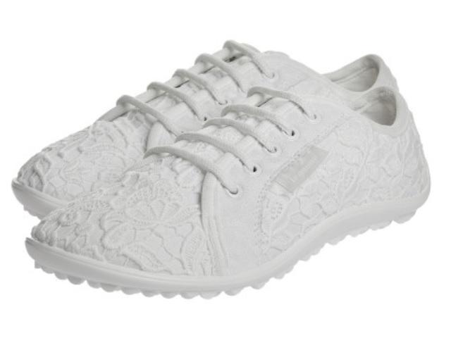 leguano amalfi bianco, ein eleganter Schnürschuh, ein Barfußschuh für Damen