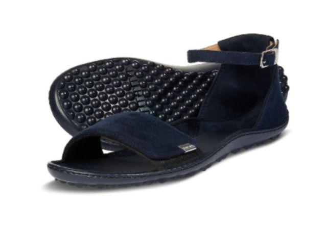 Barfuß-Sandale für Frauen von leguano in dunkelblau