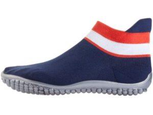 leguano sneaker in martimen Farben mit gestreiftem Bündchen